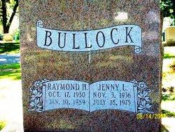 Jenny L Bullock