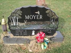 Shirley M Moyer