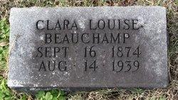 Clara Louise <I>Beauchamp</I> Babb