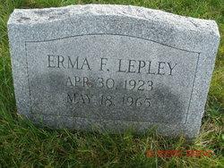 Erma Fae <I>Carl</I> Lepley