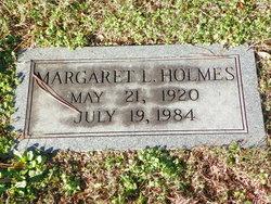 Margaret L Holmes