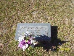 Sive <I>Reed</I> Grimes