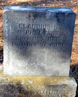 Claudius H. McPheeters