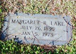 Margaret R Lake