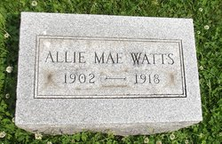 Allie Mae Watts