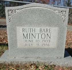 Ruth <I>Bare</I> Minton