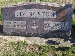 Cecil L. <I>Marquette</I> Livingston