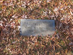 Alice V. Councill