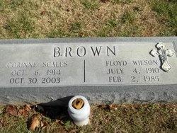 Corinne <I>Scales</I> Brown