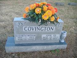 Elizabeth <I>Washam</I> Covington