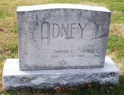 Martha E Adney