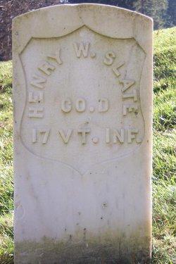 Henry W Slate