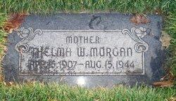 Thelma <I>Wahlstrom</I> Morgan