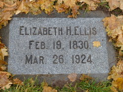 Hannah Elizabeth <I>Plummer</I> Ellis
