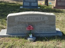 Josephine <I>Garcia</I> Hightower