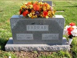 Christine <I>Tune</I> Farrar