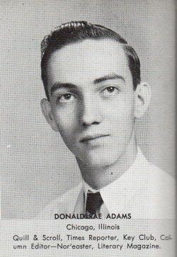 Donald Rae Adams