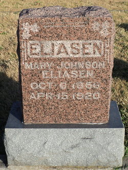 Mary G. <I>Johnson</I> Eliasen
