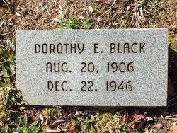 Dorothy E <I>Proctor</I> Black