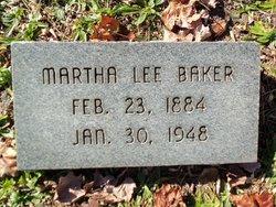 Martha Lee <I>O'Dell</I> Baker
