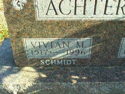 Vivian <I>Schmidt</I> Achterberg