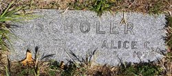 Alice <I>Caster</I> Scholer
