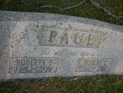 Robert E Paul