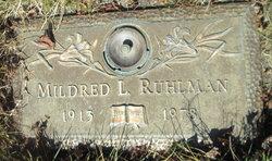 Mildred Louise <I>Johnson</I> Ruhlman