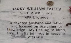 Harry William Falter