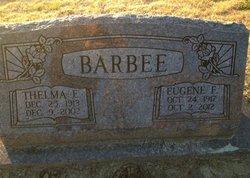 Thelma Evelyn <I>Odom</I> Barbee