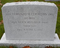Lucy <I>Russell</I> Leighton