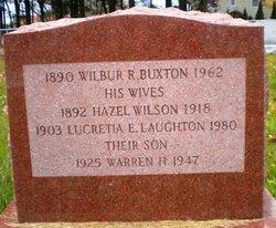 Hazel <I>Wilson</I> Buxton
