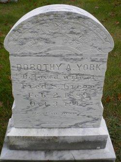 Dorothy Alvetta <I>York</I> Gregg