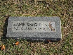 Manie Knox Dunlap
