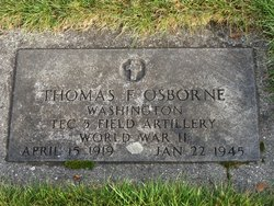 Thomas F. Osborne