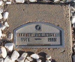 Leatha Ann West