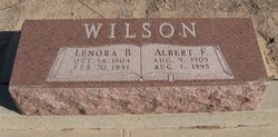 Lenora B <I>Clark</I> Wilson