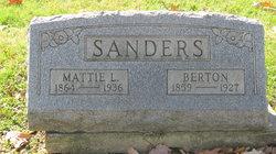 Mattie L. <I>Good</I> Sanders