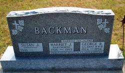 Harriet Jane <I>Hawthorne</I> Backman