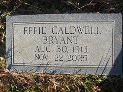 Effie <I>Caldwell</I> Bryant