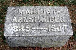 Martha Elizabeth <I>Todd</I> Arnsparger