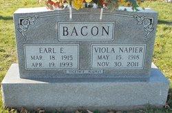 Viola <I>Napier</I> Bacon