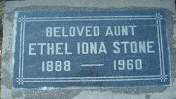 Ethel Iona <I>Snelson</I> Stone