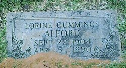 Lorine <I>Cummings</I> Alford