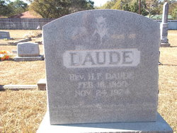 Rev H. F. Daude