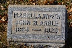 "Isabella ""Bella"" <I>Arble</I> Arble"