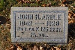 Pvt John Henry Arble Sr.