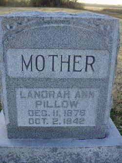 "Lanorah Ann ""Nolie"" <I>Owens</I> Pillow"