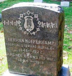Rachel <I>Burns</I> Hofferkamp