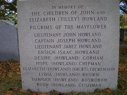 Ruth <I>Howland</I> Cushman